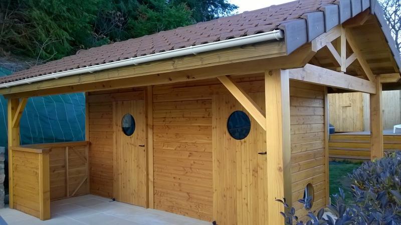 Kit Forêt, aménagements d\'extérieurs en bois à Cublize, près de Lyon